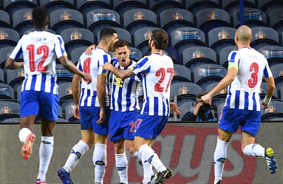 Porto a deschis rapid scorul în meciul cu Juventus - prima manșă a optimilor de finală din Liga Campionilor.