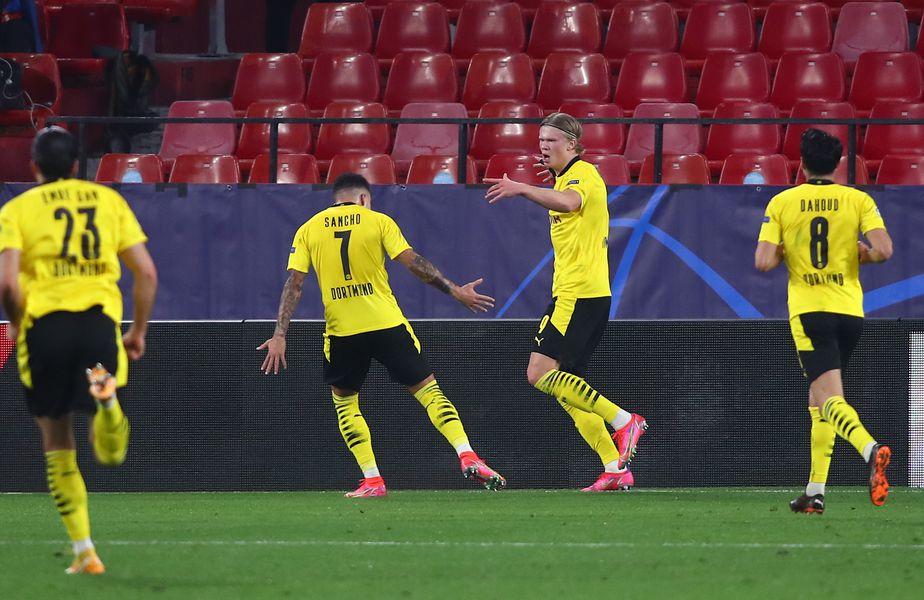 FC Sevilla și Borussia Dortmund se întâlnesc miercuri, de la ora 22:00, în manșa tur a optimilor de finală din UEFA Champions League.