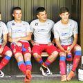 Chitoșcă (numărul 18), pe vremea când evolua pentru FCSB