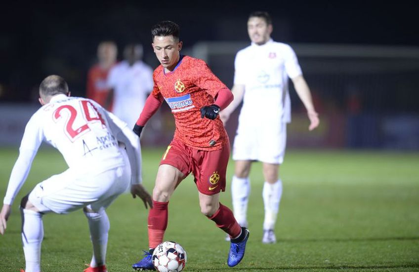 """FCSB s-a calificat în semifinalele Cupei, după ce a trecut de Hermannstadt în """"sferturi"""", scor 2-1"""