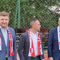 Dorin Şerdean (primul din stânga) a dat Dinamo în judecată