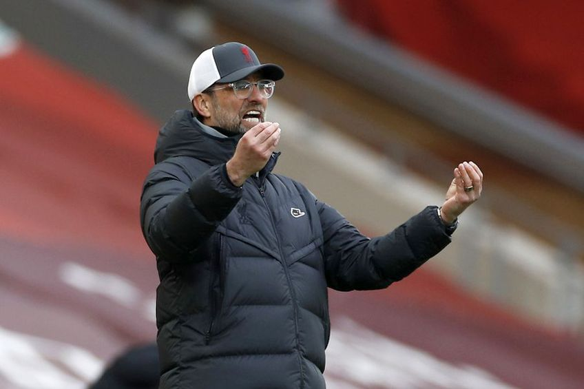 Jurgen Klopp, antrenor Liverpool // foto: Guliver/gettyimages