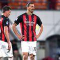 Mario Mandzukic, alături de Zlatan Ibrahimovic // foto: Imago