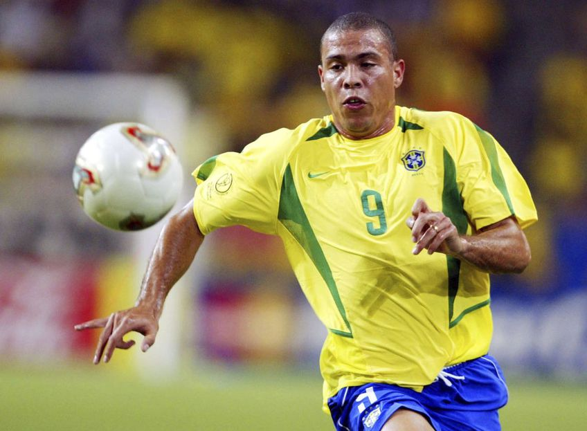 Ronaldo într-unul dintre sprinturile pentru naționala Braziliei, foto: Guliver/gettyimages