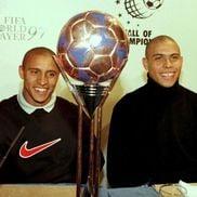 Roberto Carlos și Ronaldo Nazario, foto: Guliver/gettyimages