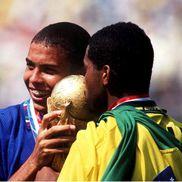 Ronaldo Nazario și Romario, foto: Guliver/gettyimages