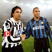 Ronaldo și Del Piero, într-un Juventus-Inter Milano, foto Guliver/gettyimages