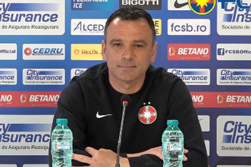 Toni Petrea, antrenor FCSB // foto: captură Facebook @ FCSB