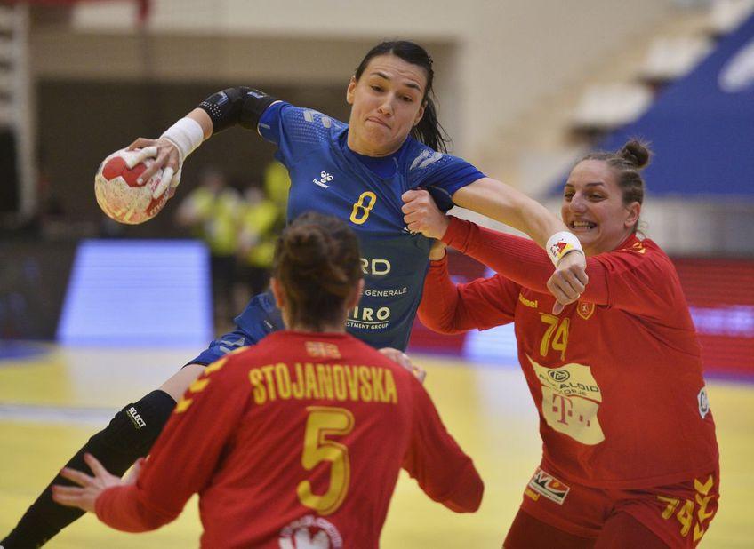 România a învins-o pe Macedonia de Nord (preliminariile Campionatului Mondial), scor 33-22