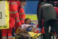 Oltenii s-au temut de ce e mai rău, după accidentarea din meciul cu Sepsi: GSP a aflat rezultatul radiografiei lui Baiaram
