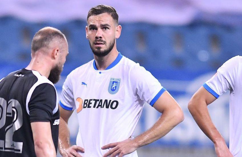 Elvir Koljic (25 de ani), atacantul celor de la CS Universitatea Craiova, are din nou probleme medicale și nu a fost inclus în lotul pentru meciul cu Sepsi Sf. Gheorghe.