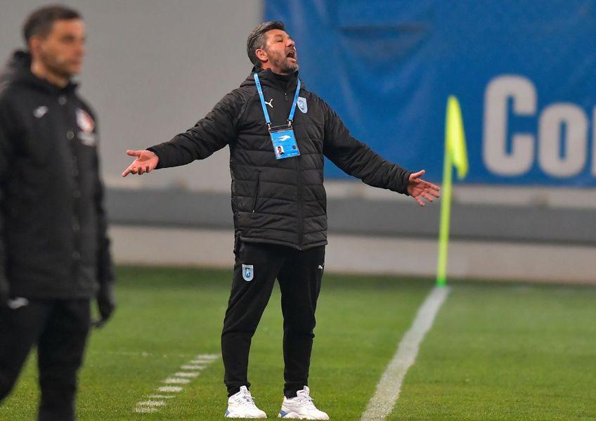 CS Universitatea Craiova a ajuns la 3 meciuri consecutive fără gol marcat în Liga 1 și poate pierde contactul cu rivalelor FCSB și CFR Cluj. Grecul Ouzounidis crede că jucătorii pe care îi pregătește au probleme de încredere.
