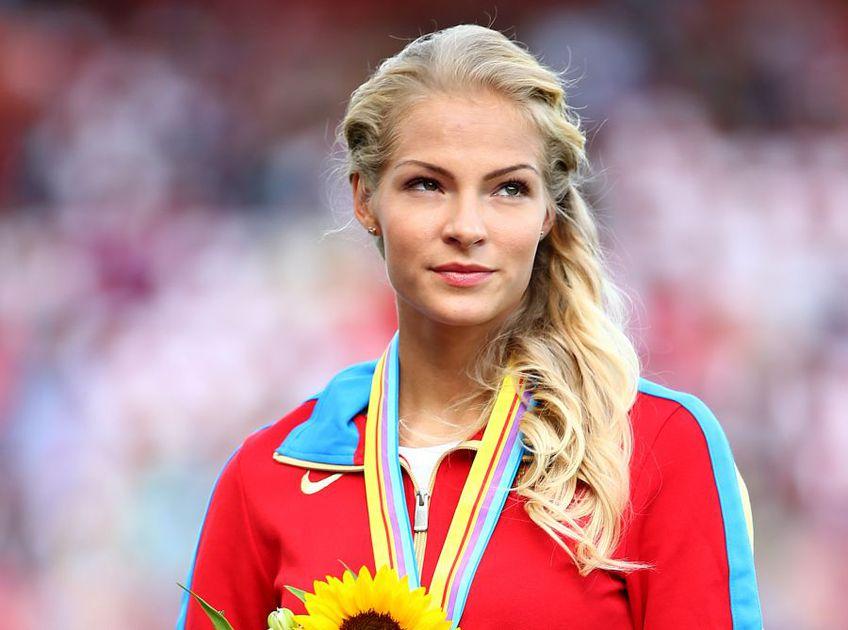 Darya Klishina, una dintre cele mai frumoase atlete