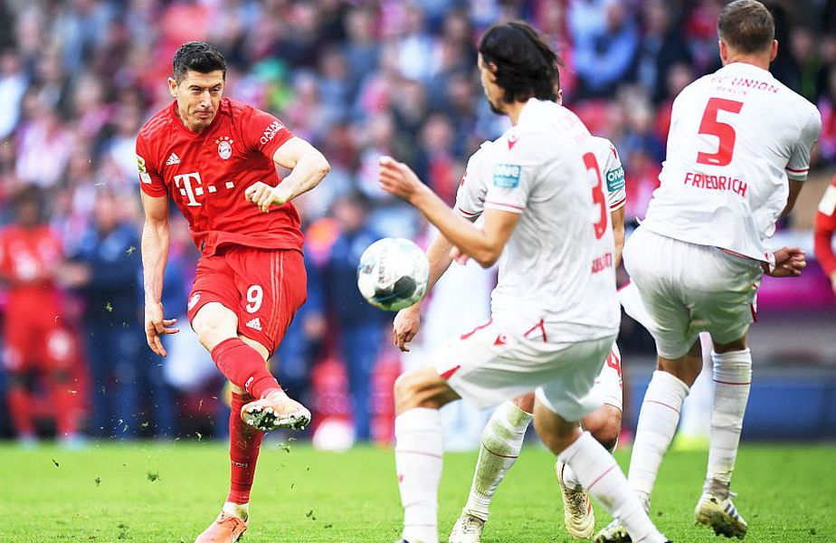 Lewandowski în Bayern-Union Berlin, în tur, foto: Guliver/gettyimages.com