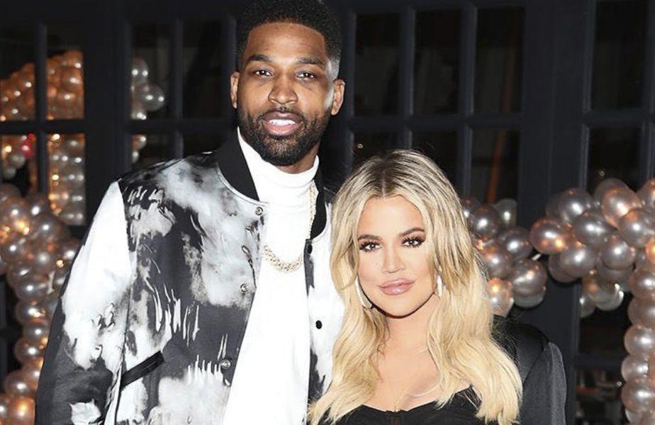 Khloe Kardashian și Tristan Thompson, reuniți de un scandal