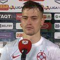 Darius Olaru, după Sepsi OSK - FCSB 2-2 // foto: captură YouTube @ Look Sport