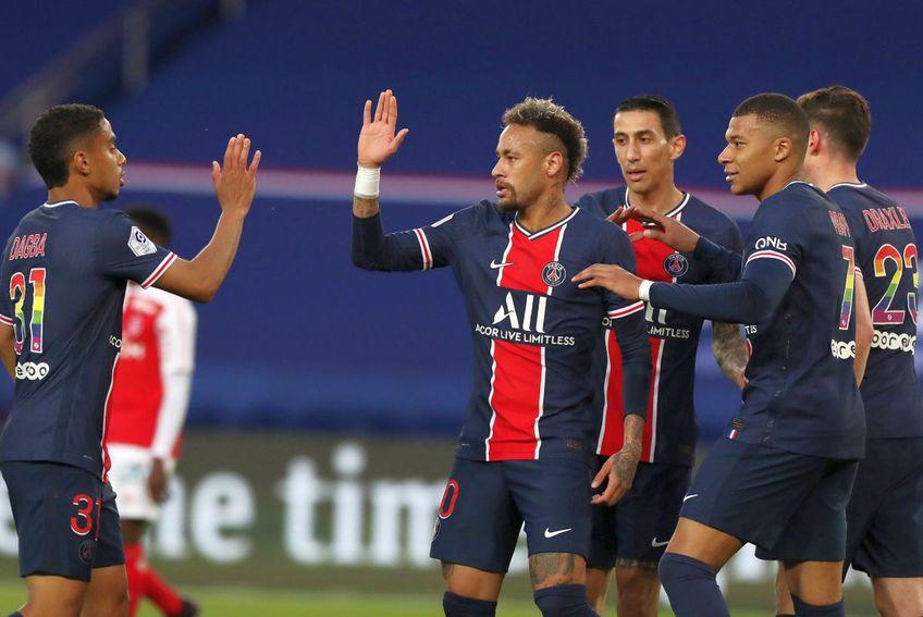 PSG a câștigat clar cu Reims, 4-0 // foto: Imago