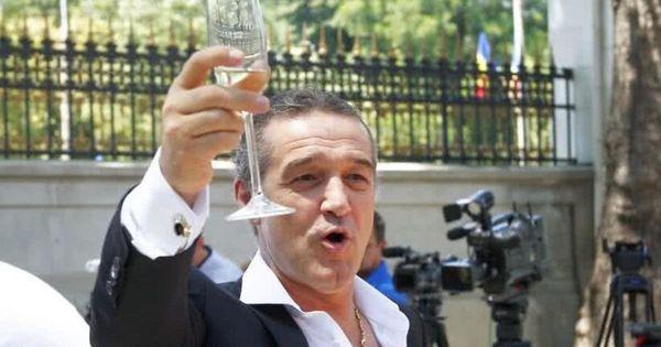"Gigi Becali, mesaj pentru Valeriu Iftime înainte de FC Botoșani - CFR Cluj: ""Bem o șampanie grasă"""