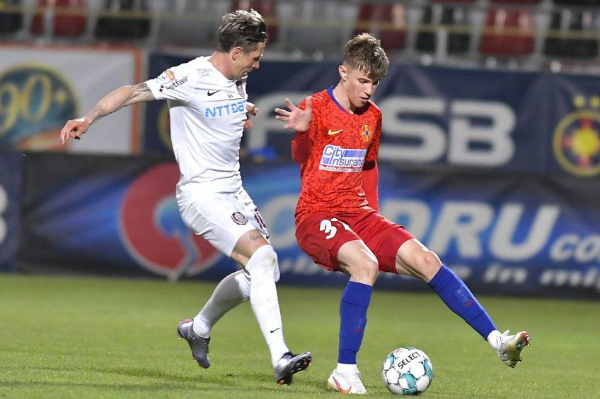 CFR Cluj și FCSB luptă pentru titlu în Liga 1 // foto: Imago
