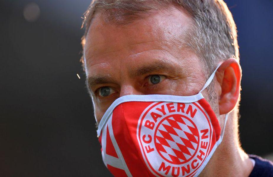 Hansi Flick, antrenorul care i-a adus lui Bayern titlul de campioană // FOTO: Guliver/GettyImages