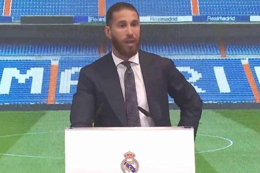 Sergio Ramos nu și-a putut stăpâni lacrimile