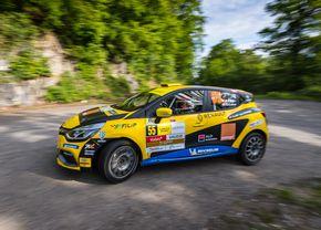 Început cu podium în Tour European Rally pentru Alex Filip și Gabi Lazăr