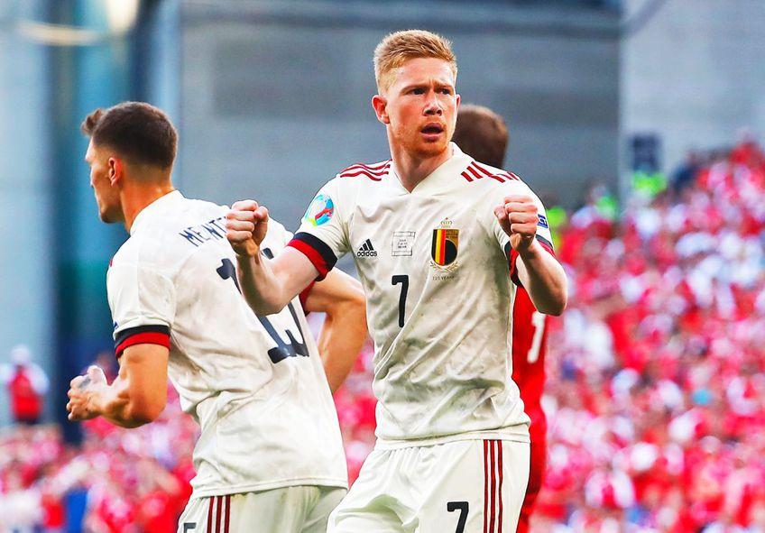 Danemarca - Belgia, în grupele Euro 2020