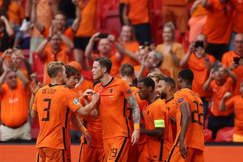 """Olanda a învins-o pe Austria, scor 2-0, și a obținut calificarea în """"optimile"""" Euro 2020!"""