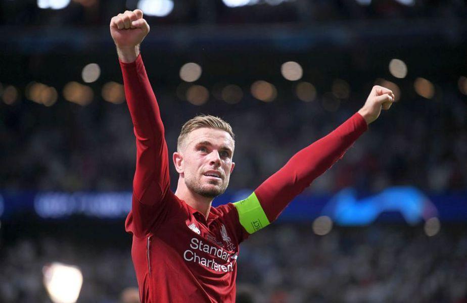 Jordan Henderson s-a transferat în 2011 la Liverpool, care i-a plătit 18 milioane de euro lui Sunderland. FOTO Guliver/Getty Images