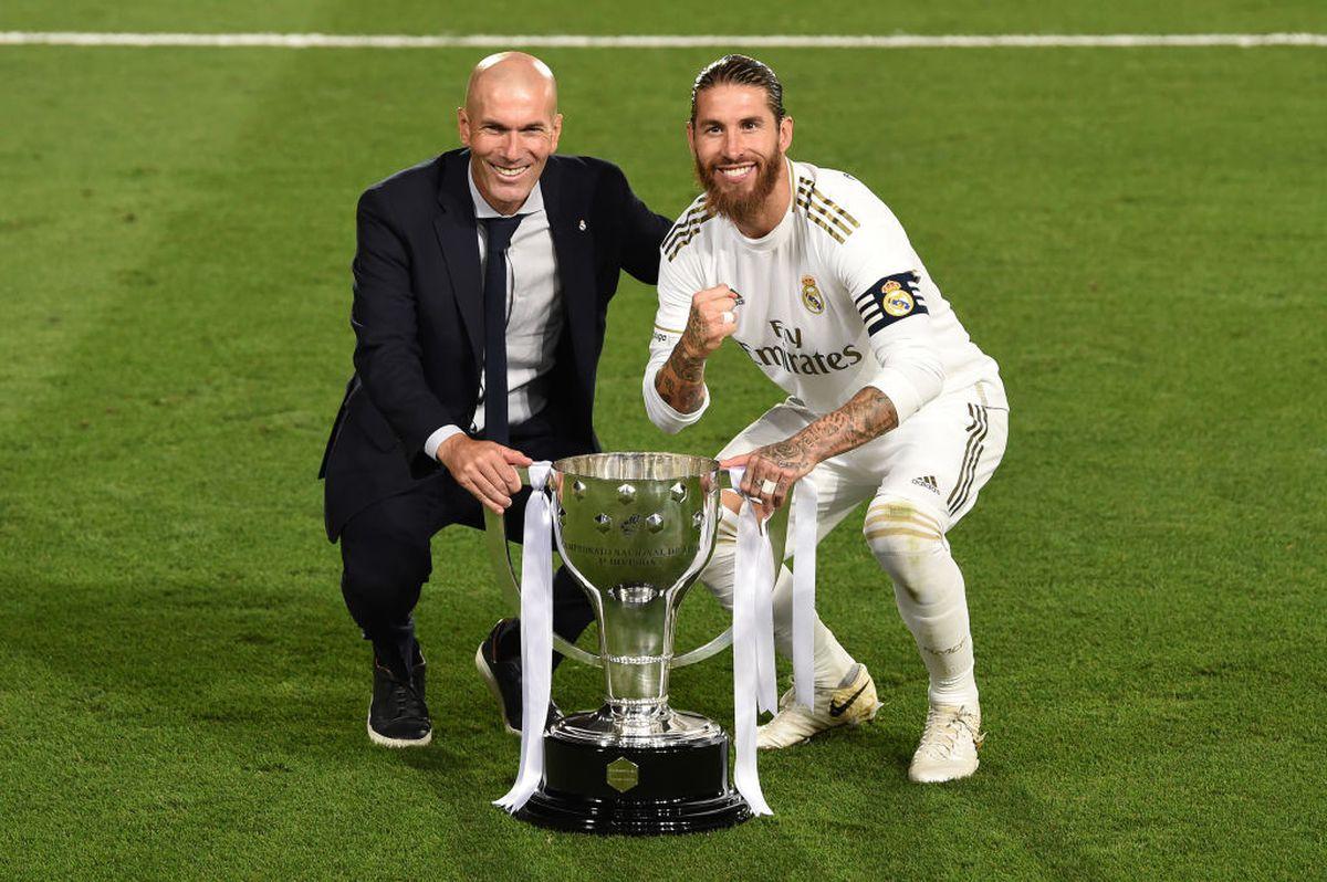 """El e artizanul titlului câștigat de Real Madrid: """"Zidane este sfânt şi credem în el"""""""