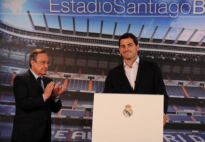 Iker Casillas revine la Real Madrid