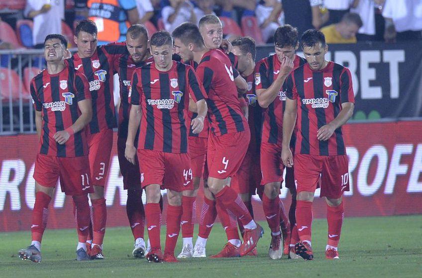 Astra a învins-o pe Gaz Metan, scor 4-0