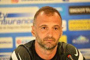 """Dinu Todoran s-a enervat după ce a fost chestionat despre un moment de la Erevan: """"Ce întrebare e asta? Te-ai uitat la alt meci"""""""