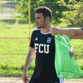 Adrian Mutu (stânga), antrenor FCU Craiova // foto: Facebook