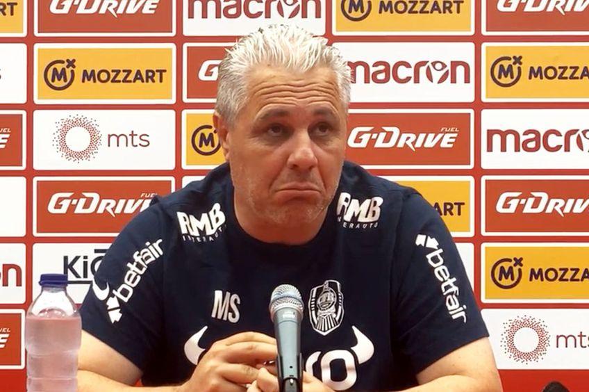 Marius Șumudică (50 de ani), antrenorul lui CFR Cluj
