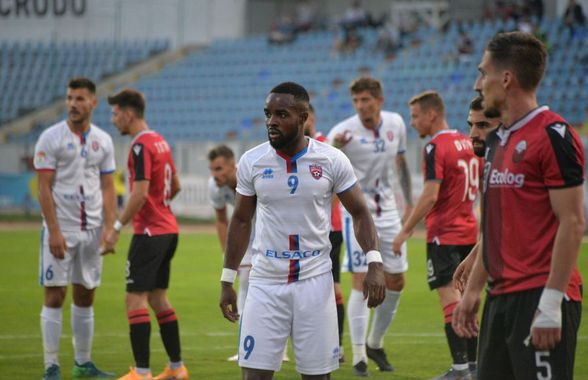 FC Botoșani - Shkendija 0-1. FOTO+CRONICĂ Cu Mou doar în vis! Moldovenii sunt eliminați din Europa League, după un joc modest