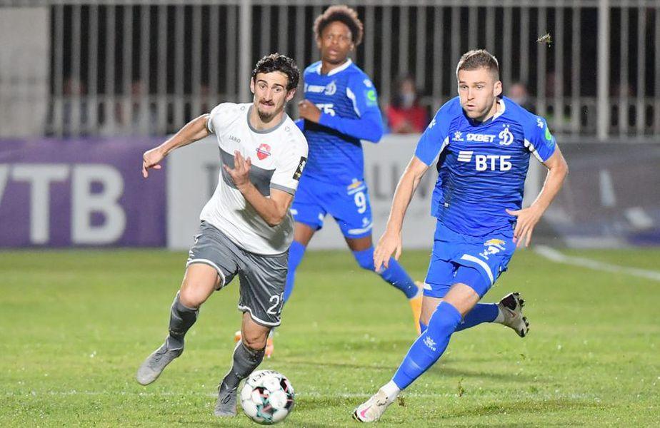 Lokomotiv Tbilisi, echipa care a eliminat-o pe CS Universitatea Craiova din Europa League în primul tur preliminar, a produs o nouă surpriza în această seară, câștigând meciul cu Dinamo Moscova, scor 2-1, din turul doi.