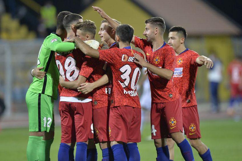 Meciul FCSB - Backa Topola 6-6 (10-11 d. pen.), din turul doi preliminar al Europa League, a stabilit o premieră în fotbalul european.