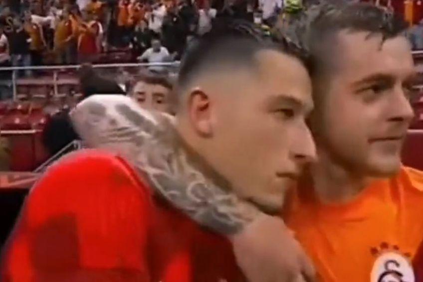 Alexandru Cicâldău și Olimpiu Moruțan au avut prestații excelente în victoria reușită de Galarasaray cu Lazio
