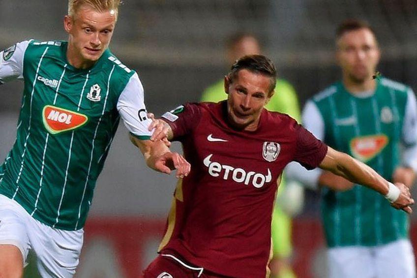 Jablonec i-a provocat o înfrângere greu de digerat campioanei / Sursă foto: Facebook @CFR Cluj