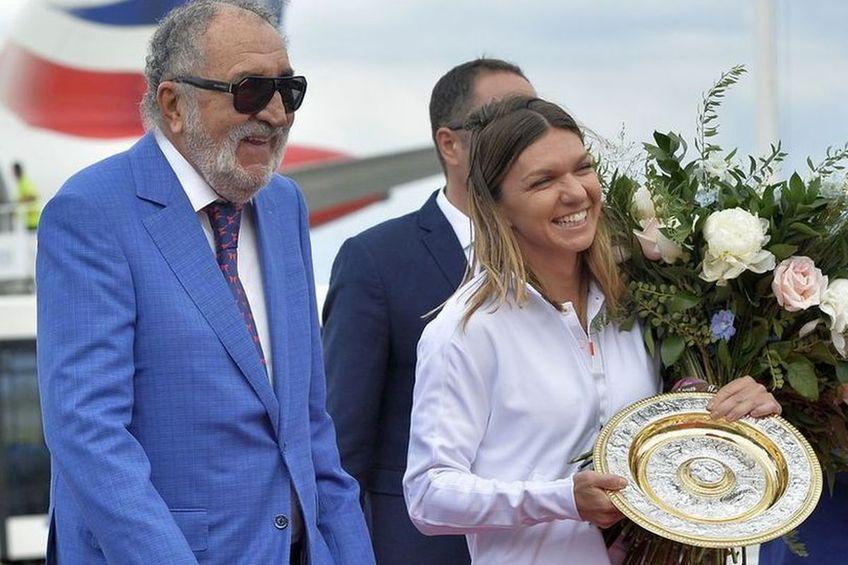 Țiriac a fost marele absent de la nunta Simonei Halep