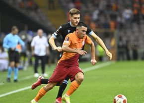 """Moruțan, ales omul meciului Galatasaray - Lazio: """"I-a înnebunit pe biancocelești"""""""