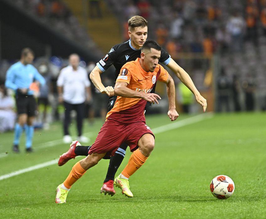 Moruțan, ales omul meciului Galatasaray - Lazio // sursa foto: Imago