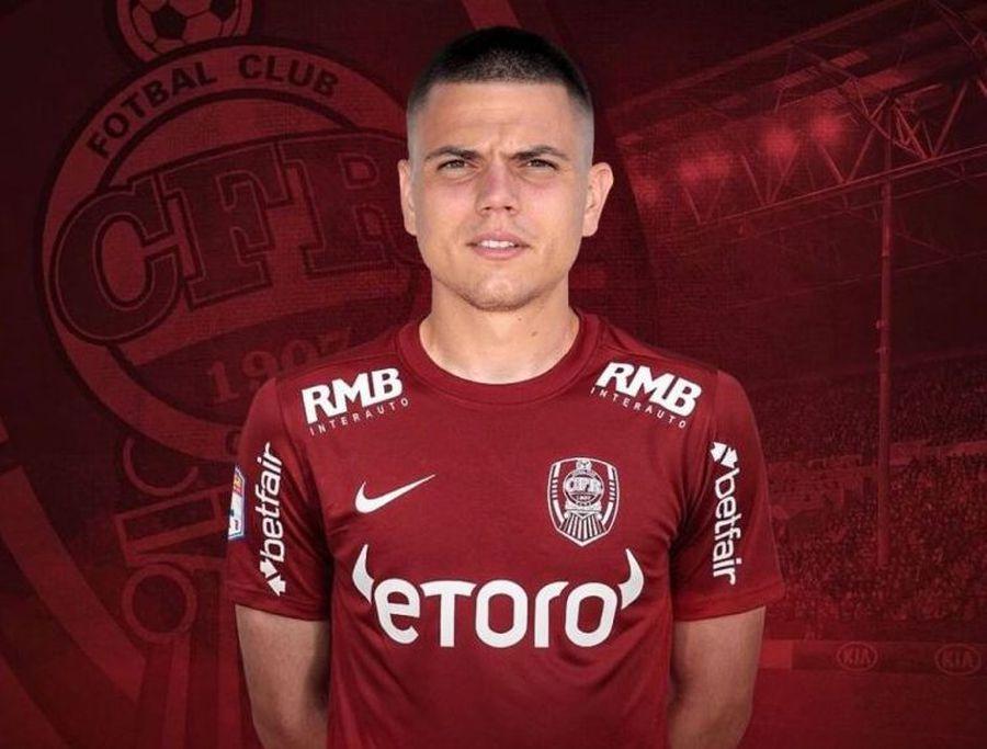 """Dan Petrescu a cerut, conducerea a executat » CFR Cluj a adus un atacant: """"Transfer de nicăieri! Cea mai interesantă mutare a sezonului"""""""