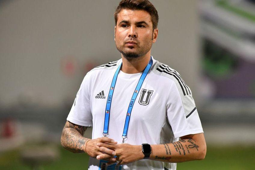 Adrian Mutu e antrenorul Craiovei de la începutul acestui sezon