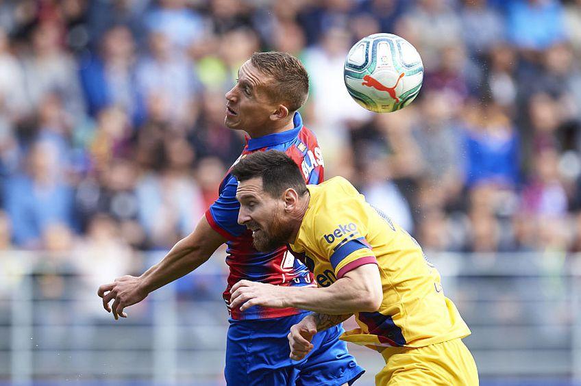 De Blasis s-a luptat cu Messi în sezonul trecut de La Liga // FOTO: Guliver/GettyImages