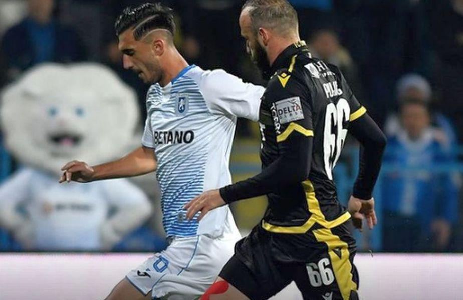 Liderul CS Universitatea se află în fața primului test important post-Koljic, accidentat, și Mihăilă, transferat la Parma.