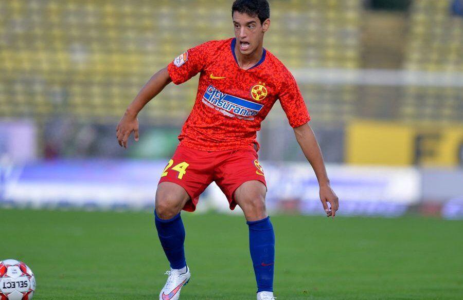 Diogo Salomao, în tricoul FCSB-ului