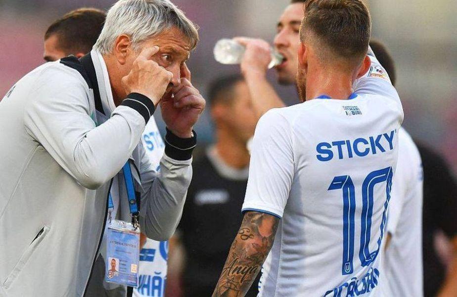 Chiar înaintea meciului cu Dinamo, de pe Național Arena, Cristiano Bergodi i-a avertizat pe suporterii Universității că seria de victorii consecutive s-ar putea frânge la un moment dat. Craiova e lider, cu 18 puncte din 18 posibile.