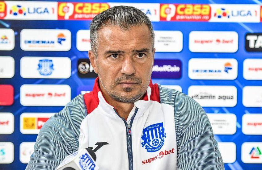 Poli Iași a pierdut partida cu Sepsi Sf. Gheorghe, scor 1-4. Daniel Pancu (43 de ani) a fost nevoit să improvizeze, având mulți absenți din cauza Covid-19.